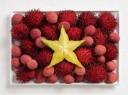Spalvingos vėliavos iš maisto
