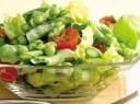 Bevertės salotų sudedamosios dalys