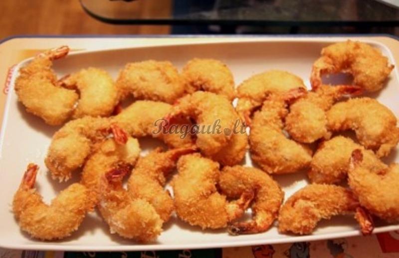 Креветки во фритюре рецепт