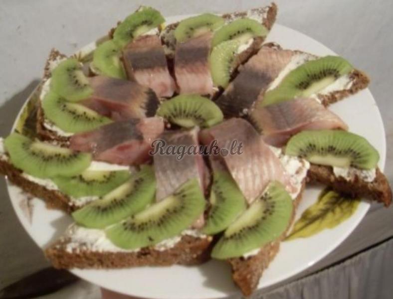 Бутерброды с киви стол рецепты