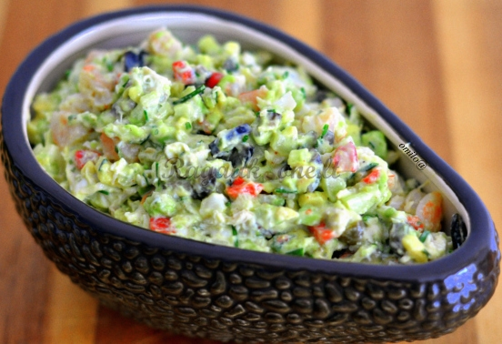 Салат из морепродуктов с авокадо рецепты на праздничный стол 191