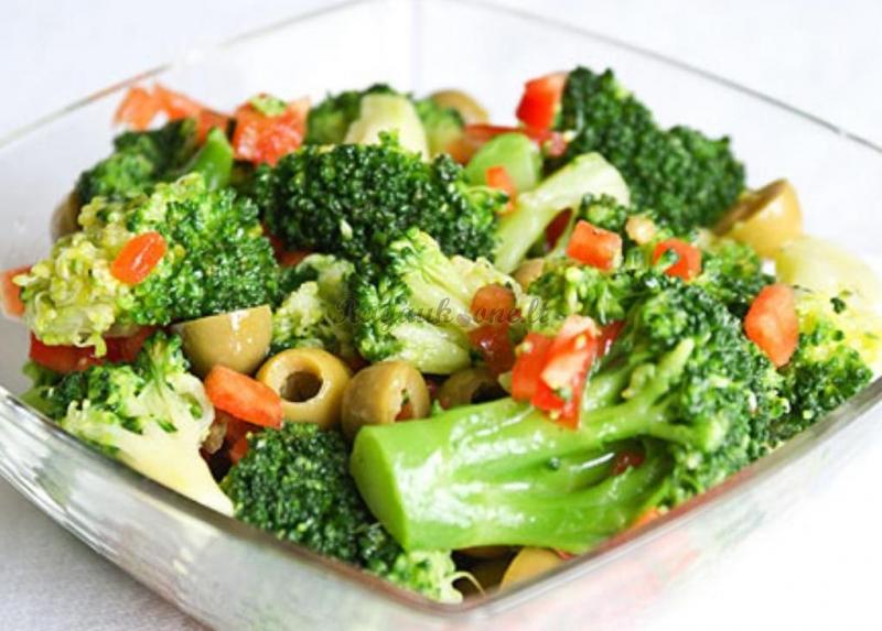 капуста брокколи салаты