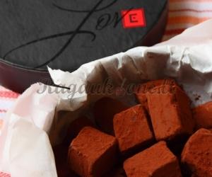 Šokoladiniai čili saldainiai