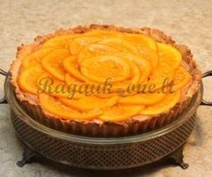 Apelsinų ir šokolado pyragas