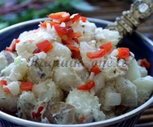 Mišrainė su virtomis bulvėmis