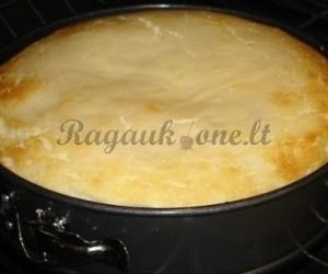 Trapus varškės sūrio pyragas