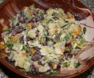 Daržovių užkandis su majonezu
