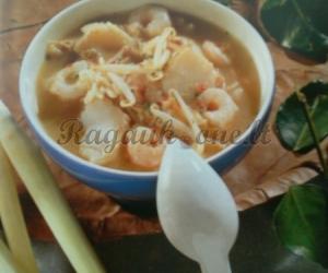 Tailando žuvies sriuba