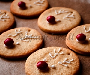 Sausainiai – kalėdinės eglutės žaisliukai