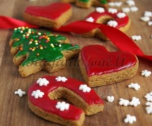 Traškūs sausainiai šventėms