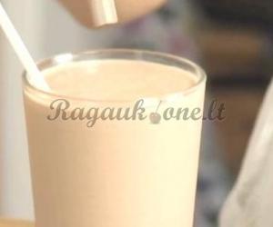 Šokoladinis bananų kokteilis