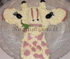 """Salotos """"Žirafa"""""""