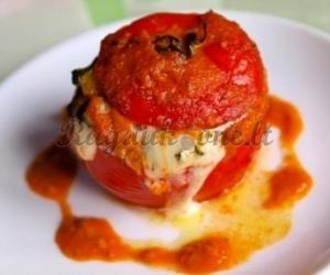 Kepti pomidorai