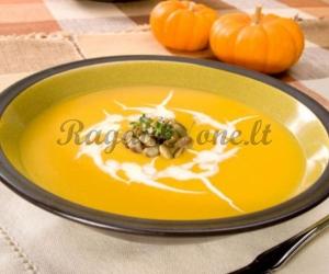 Moliūgų sriuba-kremas