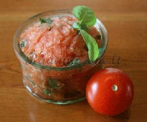 Nuostabus pomidorų šerbetas