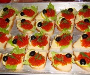 Šventiški sumuštinukai su ikrais