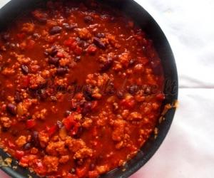 ",,Chili con carne""- čili su mėsa"
