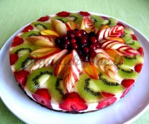 Gaivus varškės tortelaitis