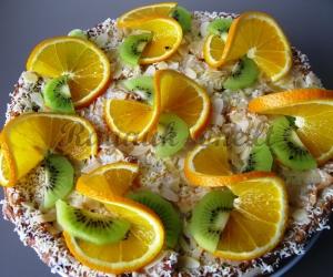 Obuolių pyragas - tortas