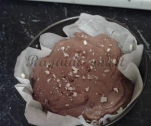 Šokoladinis pyragas be miltų