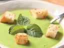 Žalia žirnelių trinta sriuba