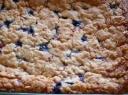 Serbentinis varškės pyragas