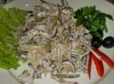Liežuvio ir agurkėlių salotos