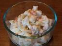 Kalafioro salotos su kumpiu