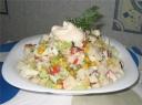 Ryžių ir krabų salotos
