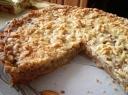 Kriaušių ir riešutų pyragas