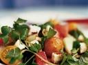 Skanios daržovių salotos su melionu