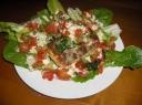 Daržovių salotos su žuvimi