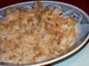 Troškinys su obuoliais ir ryžiais