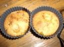 Slyvų keksiukai su sausainiais