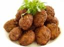 Kotletai įdaryti bulvių koše