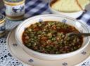Kruopų ir žirnių sriuba