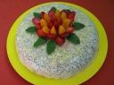 """Jogurtinis tortas """"Raudonoji gėlelė'"""""""