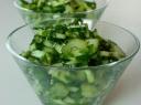 Agurkų ir salierų salotos