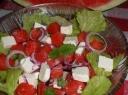Iceberg salotos su arbūzu ir feta