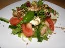 Žolelių salotos su mocarela