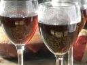 Karštas raudonas vynas