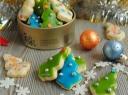 """Sausainiai """"Kalėdų eglutės"""""""