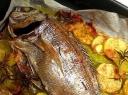 Kepta žuvis su bulvėmis