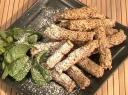 Sezamo sėklų pirštukai