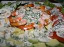 Krevečių salotos