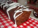 Migdolų pyragas su šokoladu