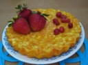 Desertinis morkų ir varškės pyragas