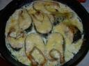 Kepta lašiša su sūriu
