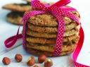 Cinamoniniai sausainiai su riešutais