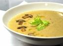 Tiršta pupelių ir pievagrybių sriuba